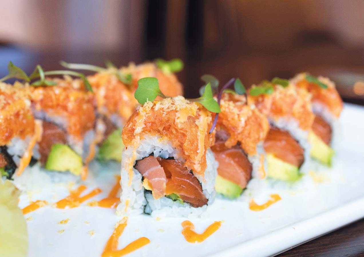 Tiger Roll at Lily Asian Cuisine