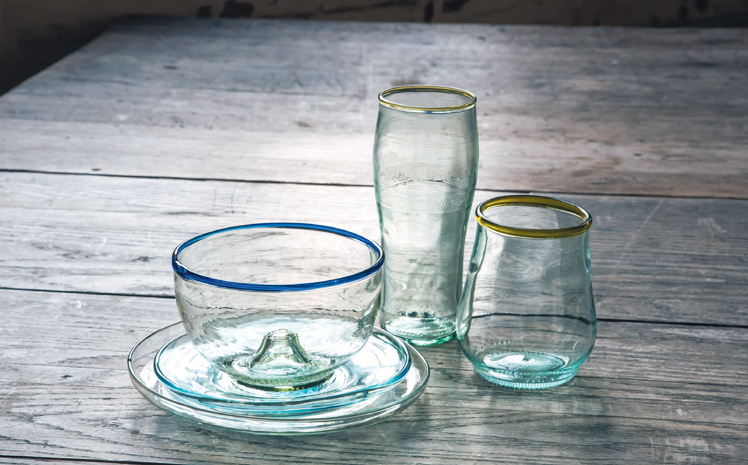 Glassware from Remark Glass