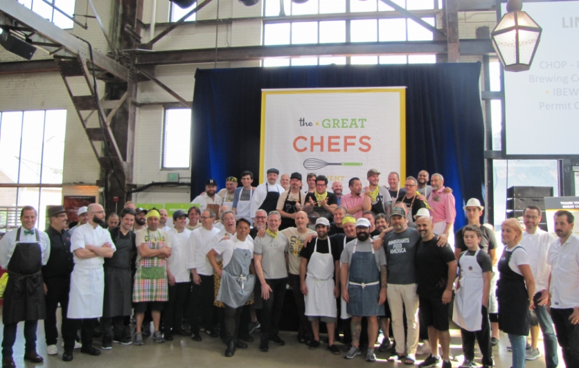 Over 40 chefs from across the country at Great Chefs Event