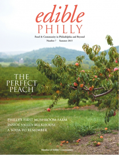 Summer 2015 Edible Philly Cover
