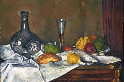 Still Life with a Dessert by Paul Cézanne