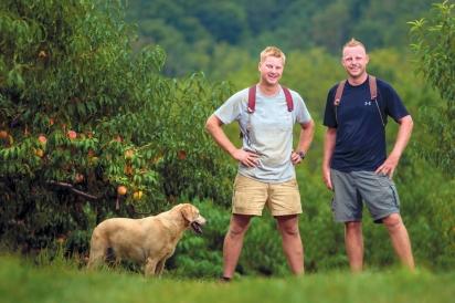 Jake and Ben Scholl