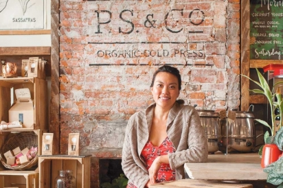 P.S. & Co. owner Andrea Kyan