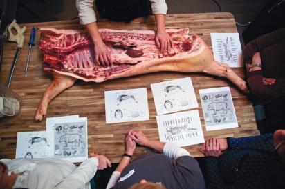 Butchering Diagrams