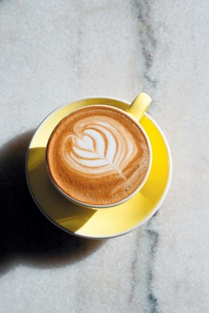 Green Engine Coffee cappuccino
