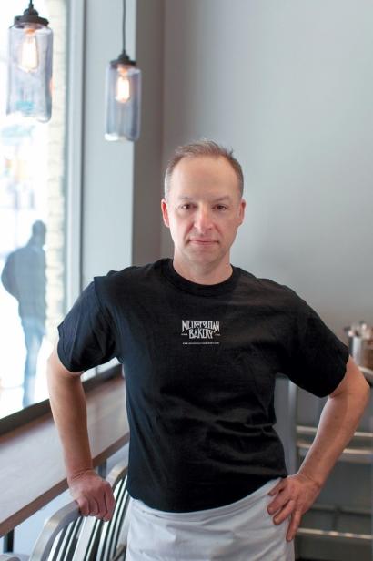 James Barrett of Metropolitan Bakery