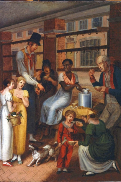Pepper-Pot: A Scene in the Philadelphia Market by John Lewis Krimmel