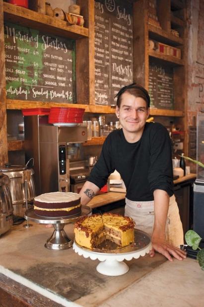 P.S. & Co. employee Evan Deges
