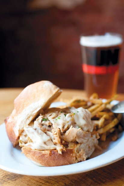 Beercan Chicken Sandwich