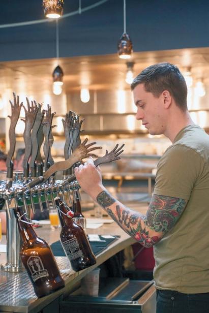 Chris Novak of Tired Hands Fermentaria Bar
