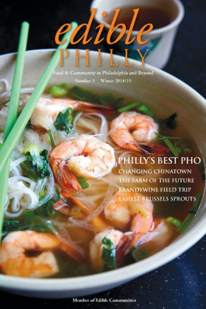 Edible Philly, Issue #5, Winter 2014/2015