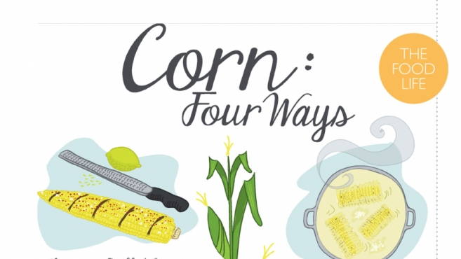 corn: four ways