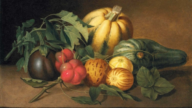 James Peale. Still Life with Vegetables.