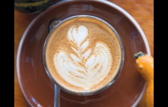 Latte from Soltane Café Bottom
