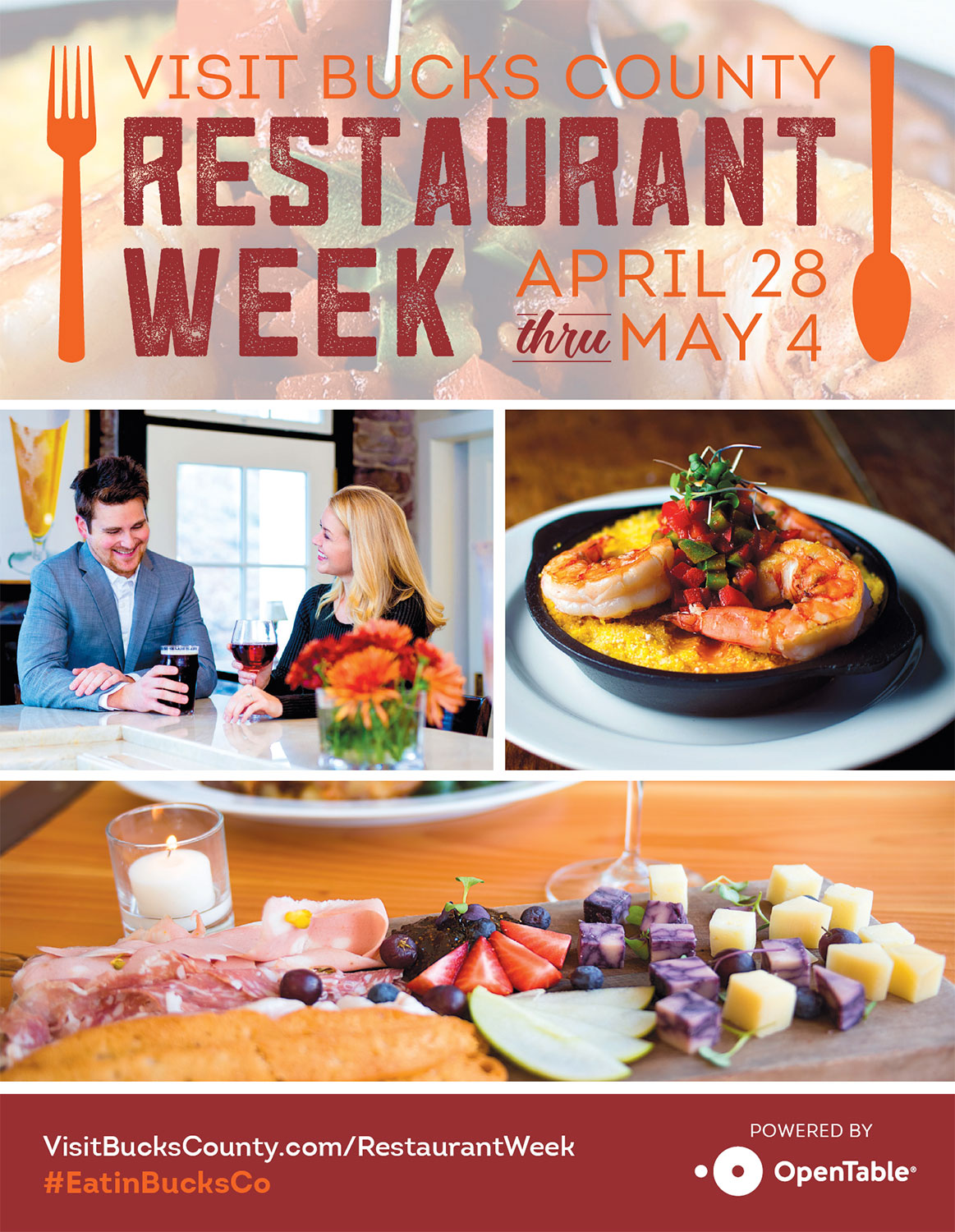 Visit Bucks County Restaurant Week Edible Philly